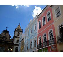Colorful Salvador Photographic Print