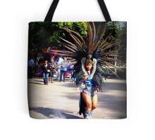A Dancing Aztec Tote Bag
