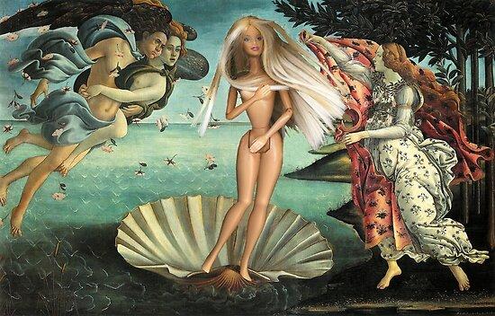 The Birth of Barbie by VenusOak