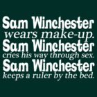 Sam Winchester. by Michelax