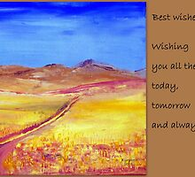 Best wishes by Elizabeth Kendall