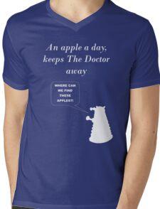 An apple a day... Mens V-Neck T-Shirt