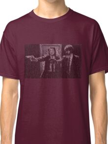 Pulp Fiction Quotes Classic T-Shirt