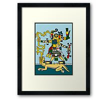 Beast Rider - Codex Fejervary Mayer 04 Framed Print