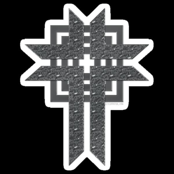 Steel Cross by Xennifer