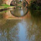 Canal Reflection, Market Harborough by KUJO-Photo