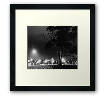 The last stand against the urban sprawl Framed Print