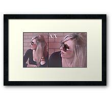 AX Framed Print