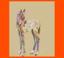 Foal paint Kids Tee