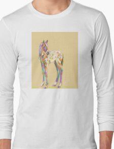 Foal paint Long Sleeve T-Shirt
