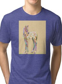 Foal paint Tri-blend T-Shirt