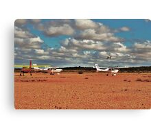 Flight Club fly in.....one off....three waiting to go Canvas Print