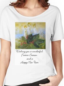 A Card for Christmas Women's Relaxed Fit T-Shirt