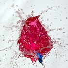 Bubble: Cerise and Blue by Phil Rhodes