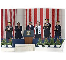In appreciation from a grateful nation - President Barack Obama Poster