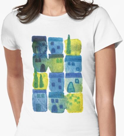 7am in Tuscany Womens Fitted T-Shirt