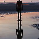 Staring at the Sea, Crosby Beach by KUJO-Photo