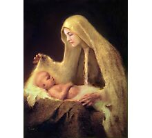 Mary and Baby Jesus Photographic Print