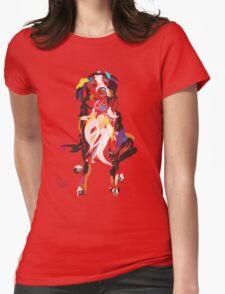 cool tshirt, dog Iggy Womens Fitted T-Shirt