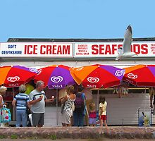 Ice Cream, Torquay by KUJO-Photo