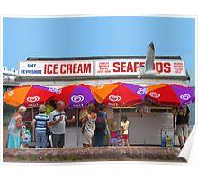 Ice Cream, Torquay Poster