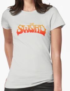 The Sword-Music Womens Fitted T-Shirt