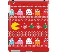 Get Ready! Christmas Pac-Man (RED) iPad Case/Skin