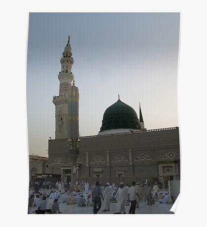 Nabvi Mosque Medina Poster