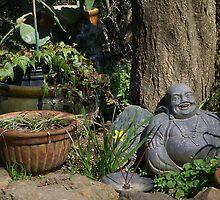 Chilling Buddha by LunaLuxPhoto