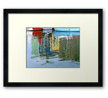 Reflections, Portsmouth Framed Print