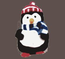 Cute Penguin T-shirt Kids Clothes