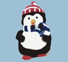 Cute Penguin T-shirt by Zozzy-zebra