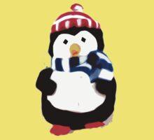 Cute Penguin T-shirt Kids Tee