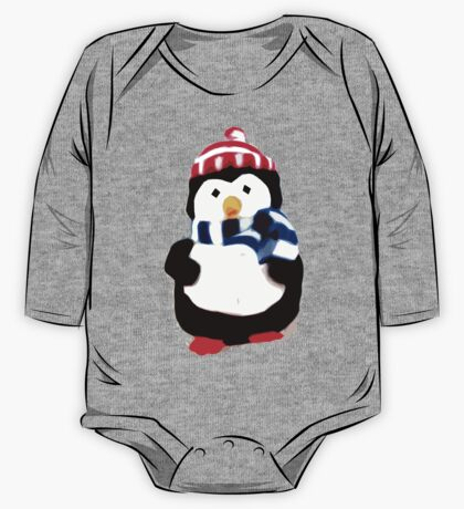 Cute Penguin T-shirt One Piece - Long Sleeve