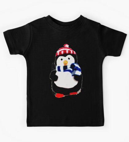 Cute Penguin T-shirt Kids Tee