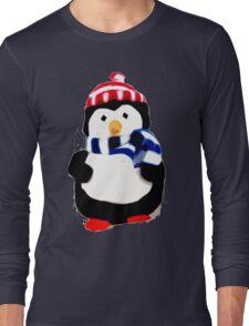 Cute Penguin T-shirt Long Sleeve T-Shirt
