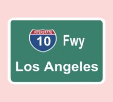 INTERSTATE 10: LOS ANGELES by SOL  SKETCHES™