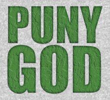 PUNY GOD by David Naughton-Shires