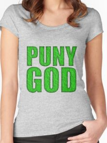PUNY GOD Women's Fitted Scoop T-Shirt