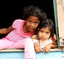 Panamanian Girls by Abby Lewtas