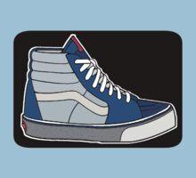 VANS SK8 H: NAVY BABY BLUE Kids Clothes