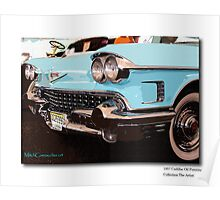 Caddy on wall Poster