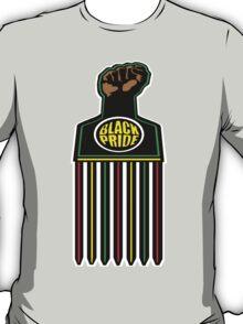 AFRO PICK: BLACK PRIDE | BLACK FIST T-Shirt