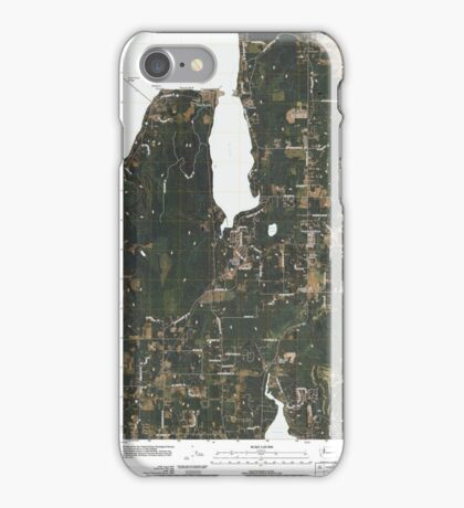 USGS Topo Map Washington State WA Port Gamble 20110504 TM iPhone Case/Skin
