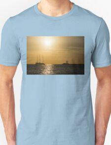 Tallship - Sunny Harbor Approach T-Shirt