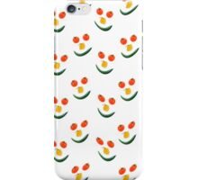 Smiley salad face iPhone Case/Skin