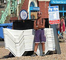 For Hire, Brighton by KUJO-Photo