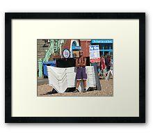For Hire, Brighton Framed Print