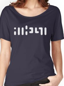 ATHEIST (white) Women's Relaxed Fit T-Shirt