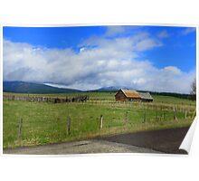 Idaho Open Range....Outside Cascade, Idaho Poster